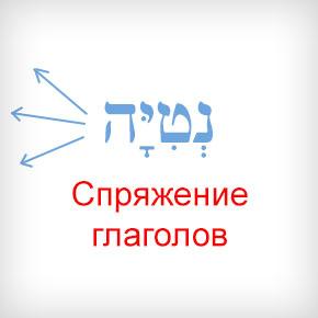 Спряжение глаголов в иврите